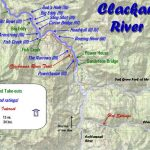 Clackamas River Map