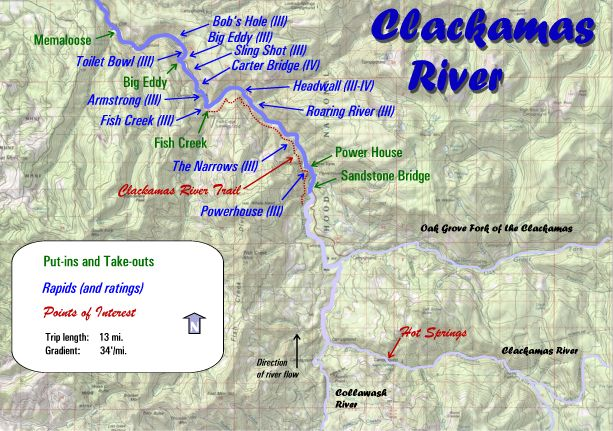 Maps Oregon River Experience