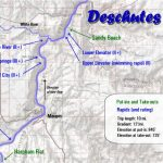 Deschutes River Map