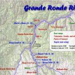 Grande Ronde River Map