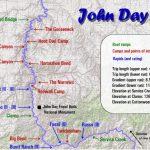 John Day River Map