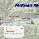 McKenzie River Map