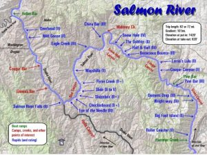 Salmon River Map