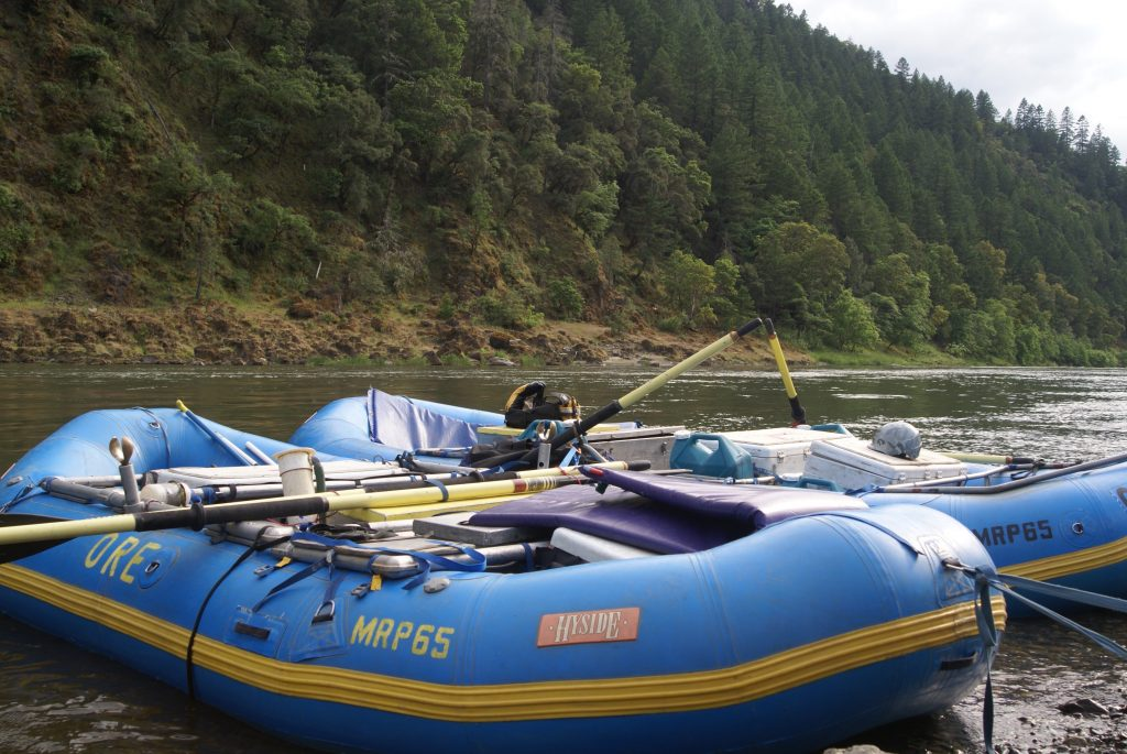 Oregon River Rafting - Rafts on the River