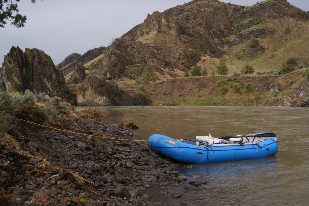 raft on john day river