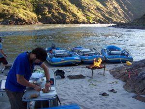 Kitchen on the L Salmon River