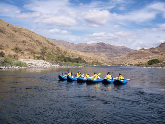 Lower Salmon River Rafting 02