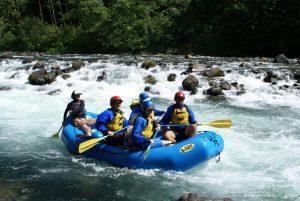 Clackamas River Rafting