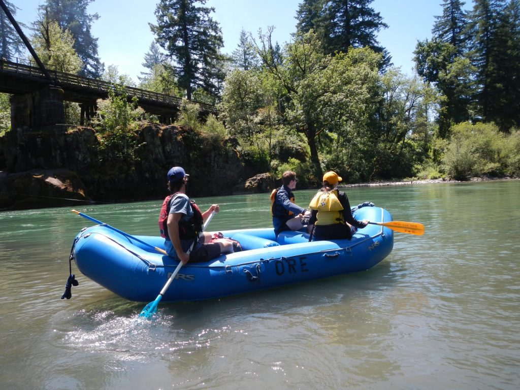 River Rafting North Santiam